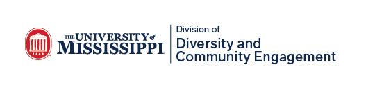 University of Mississippi Division of Diversity and Community Engagement logo
