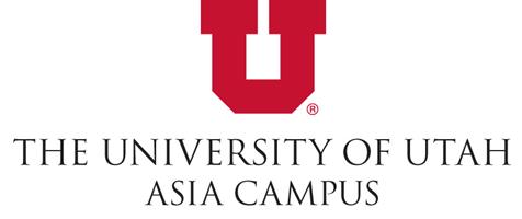 The University of Utah Asia Campus logo