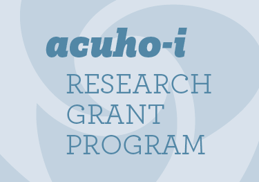 ACUHO-I research grant program