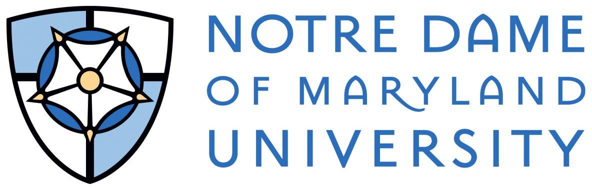 notre dame of Maryland university logo