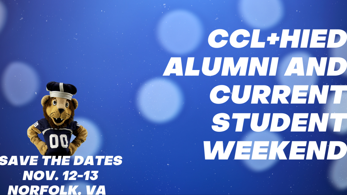 Alumni + Current Student Weekend Nov 12-13