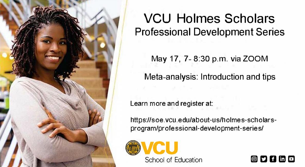 VCU Holmes Scholars 5/21