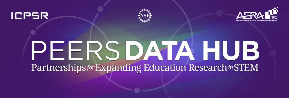AERA-ICPSR PEERS Data Hub